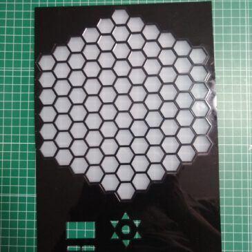 Lasercut gameboard